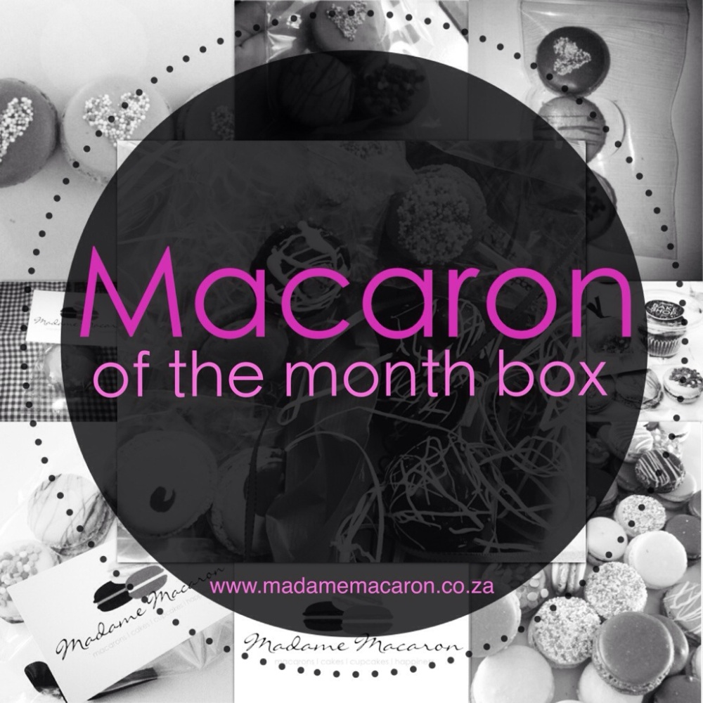 Macaron Of The Month Box