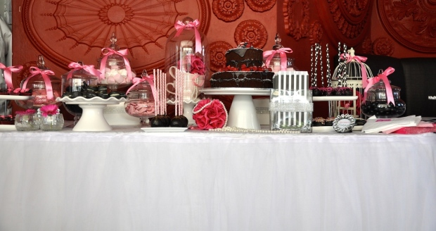 The beautiful treat table
