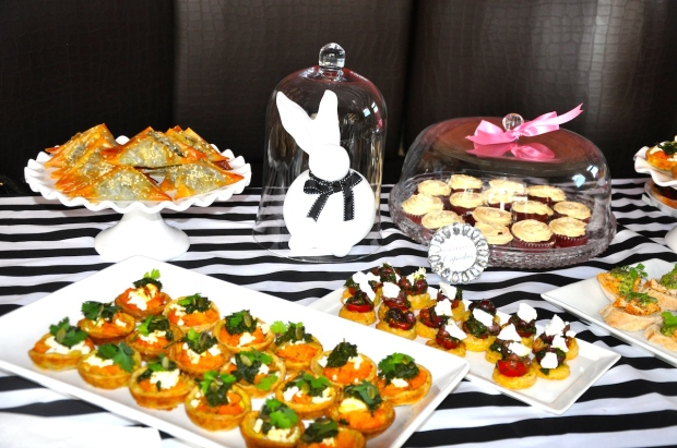 The delicious avouries sponsored by Boutique Boulangerie and Jasmin Nights Software Solutions