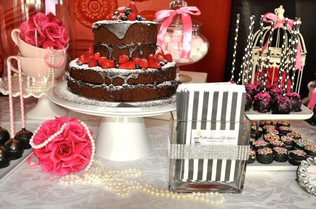 My Strawbaby Chocolate Chocolate Cake