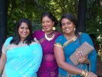 Linessa, Namasha and I