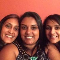 Niresha, Saiyuri and I