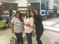 Verushka, Sue and I