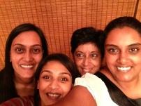 Mummy and her girls