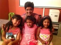 Mummy, Ascharya, Teyla and Jasmin