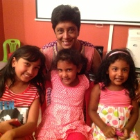 Mummy, Ascharya, Teyla and Jasmin