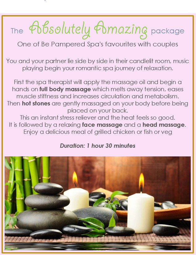 be pampered spa competiton