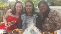 Megan, Veushka and Myself