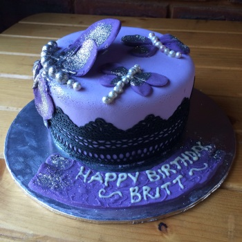 Dragonfly Bling Cake