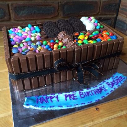 The Chocolate Box Cake