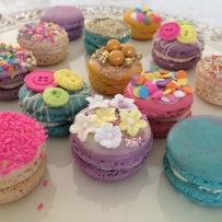 Designer macarons