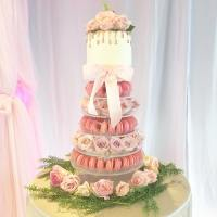 MAC TOWER AND ROSES CAKE